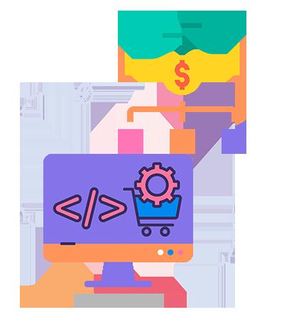 Ecommerce Development Icon