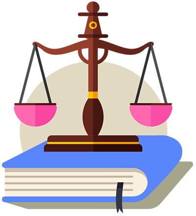Law with book Icon